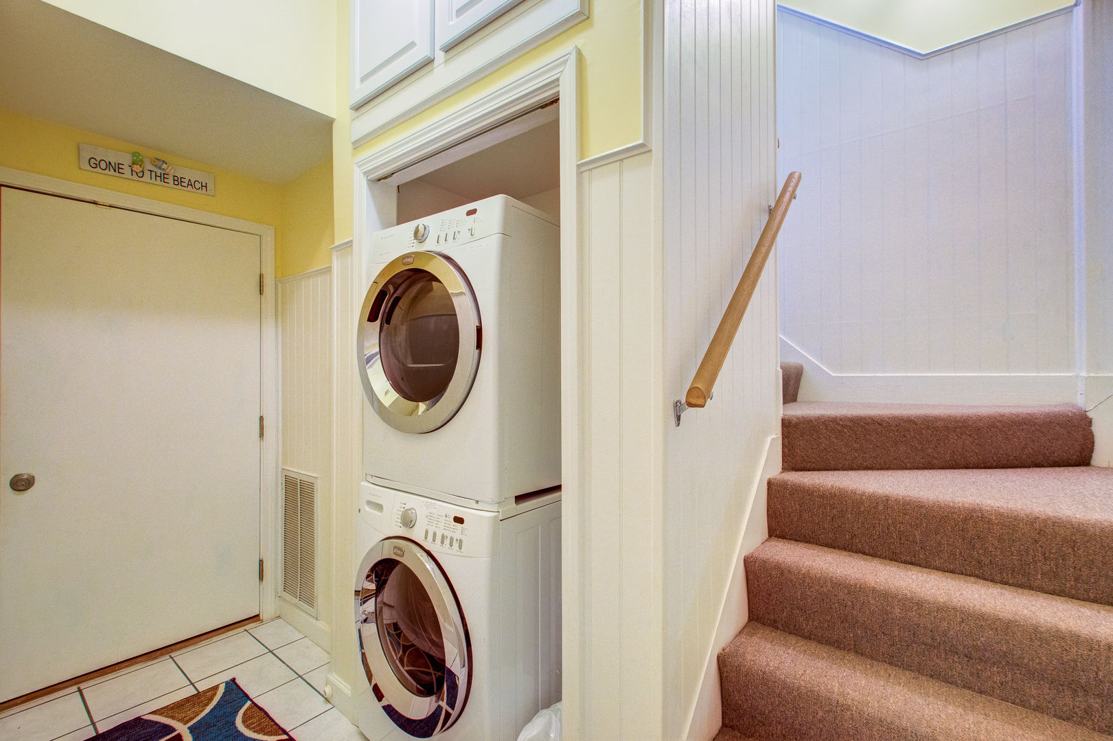 Guests Can Enjoy Washer and Dryer.