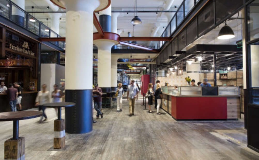 The inside of the Ponce City Market
