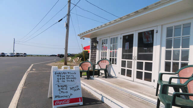 Just as you enter the beach - stop and get your Lobstah roll for the beach! Featured many times on the Food Network and the Phantom Gourmet! Lobstah On A Roll Dennisport Cape Cod New England Vacation Rentals