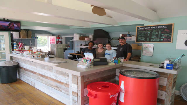 Come in and say hi to Joe and the team - they will take good care of you! Lobstah On A Roll Dennisport Cape Cod New England Vacation Rentals