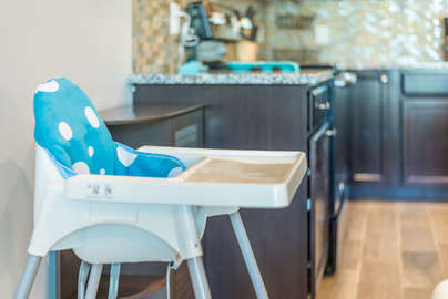We provide you with a highchair