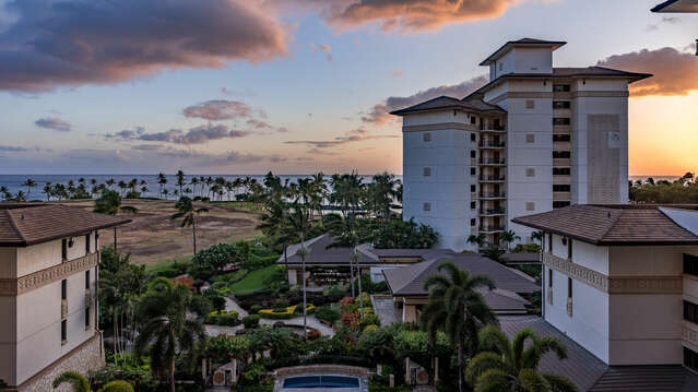 Fantastic Sunsets from your Lanai at this Oahu condo rental