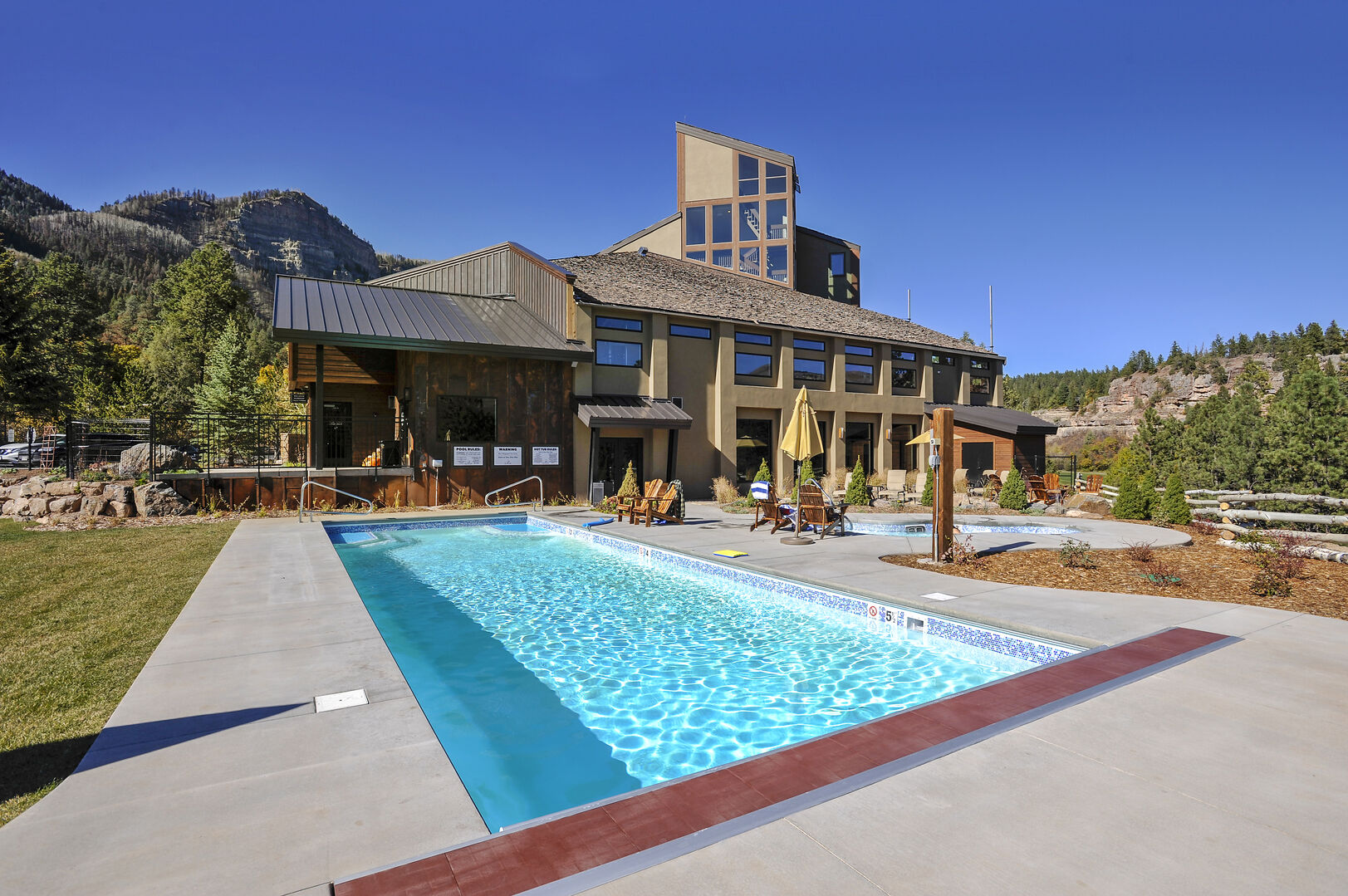 year round outdoor pool
