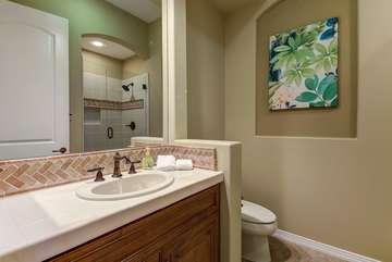Bathroom 3 is connected to bedroom 3  Bathroom 3 Full Bath