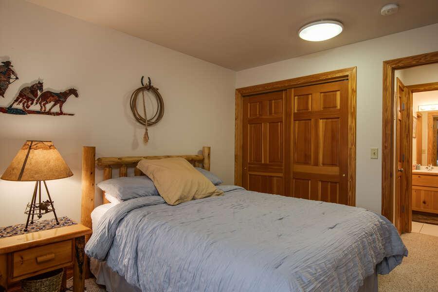 Teton Serenity - master bedroom