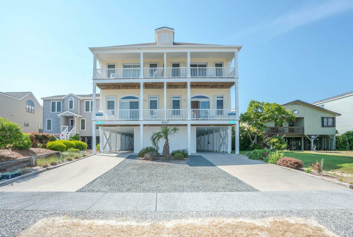 607WM-A Oceanfront Duplex - Short Sail East
