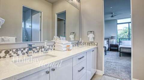 Shared Bathroom attached to bedrooms 2 & 3
