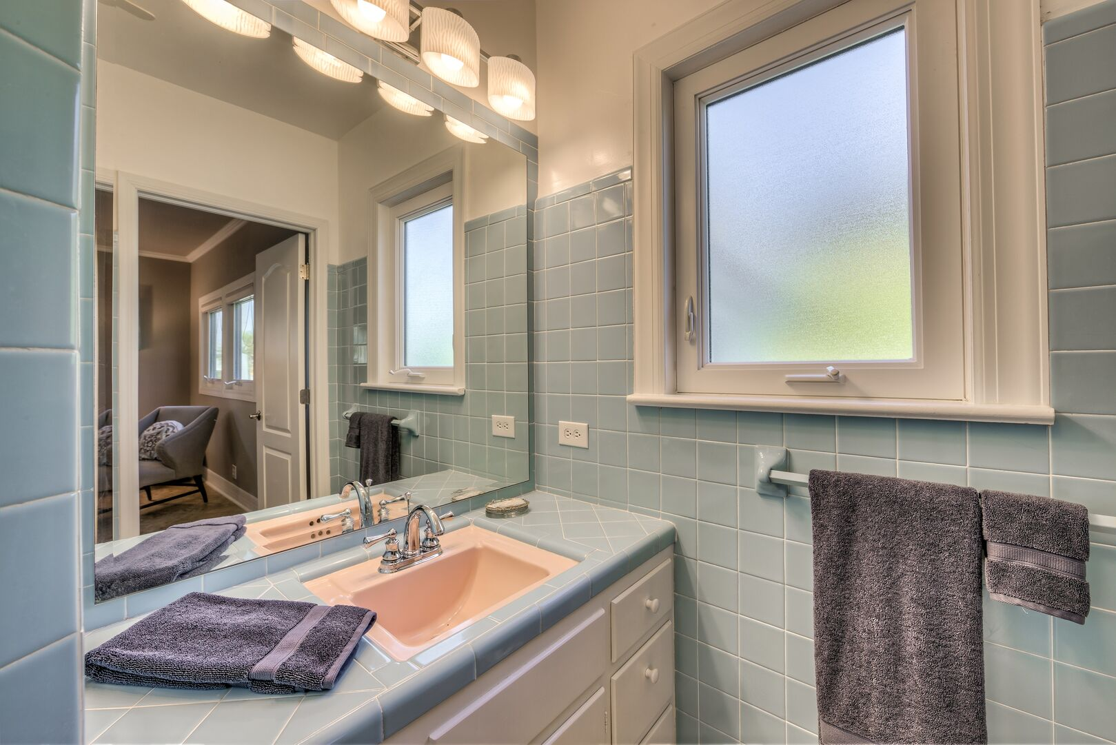 Bathroom in our Fort Myers cottage