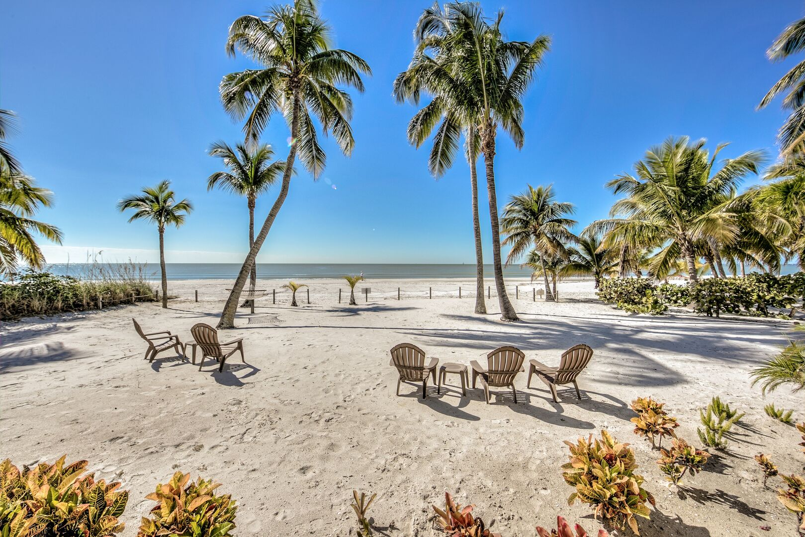 Beach views from our Fort Myers cottage