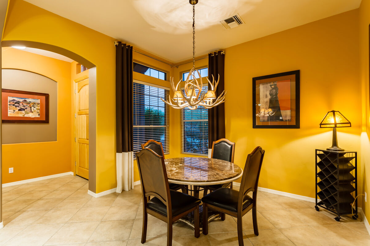 Formal Dining Room - Additional Seating w/ A Southwestern Flare!