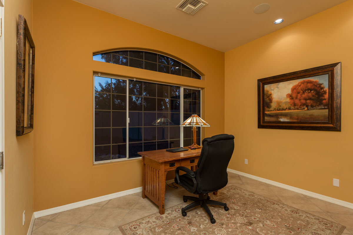 Office off the Master Bedroom