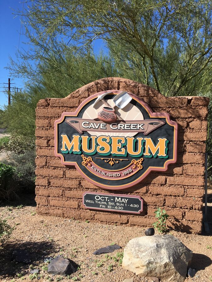 Cave Creek Museum Walking Distance to Home