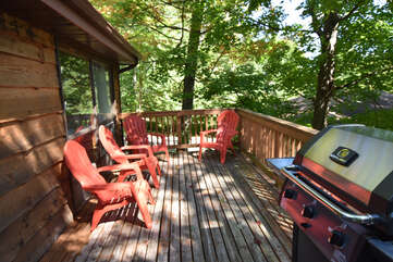 Deck with BBQ Bay