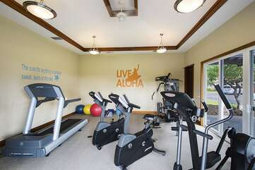 Golf Villas Exercise Hale