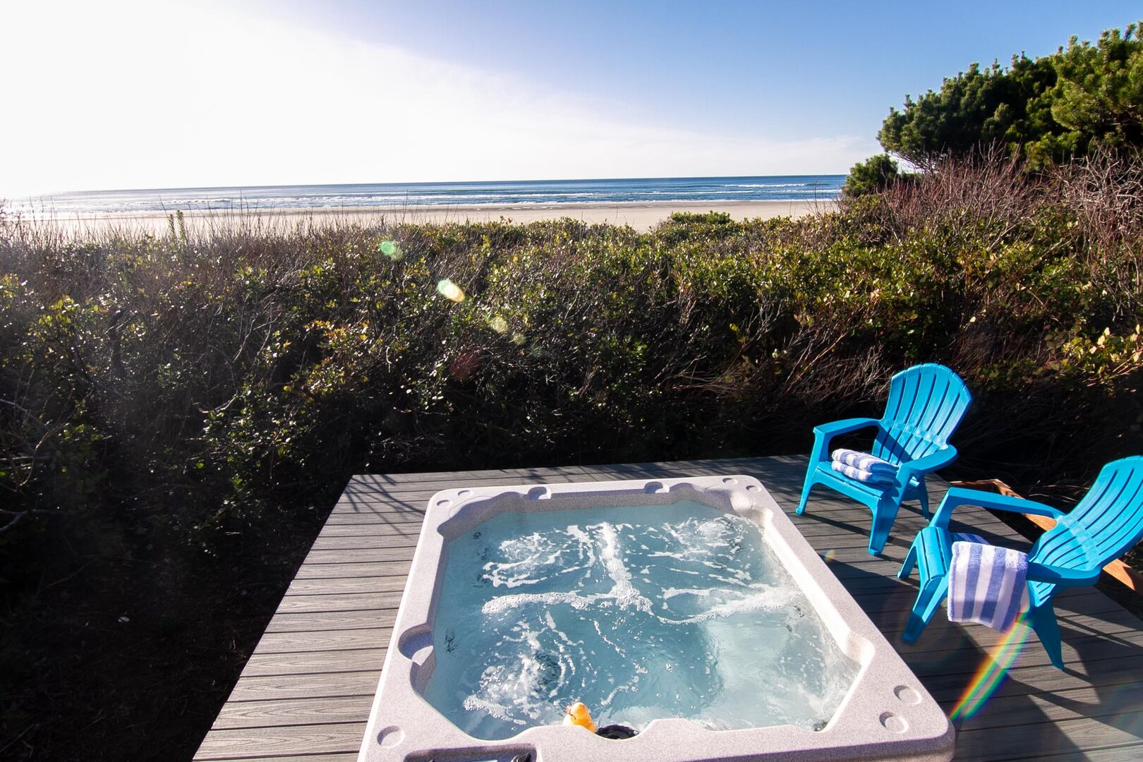 You can't beat this relaxing seaside retreat.