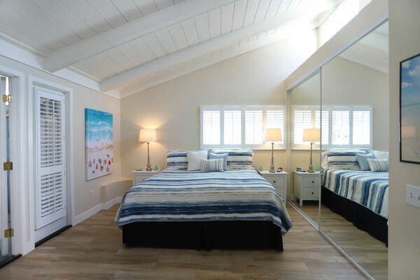 Master Bedroom - King Bed + Twin Daybed with Trundle