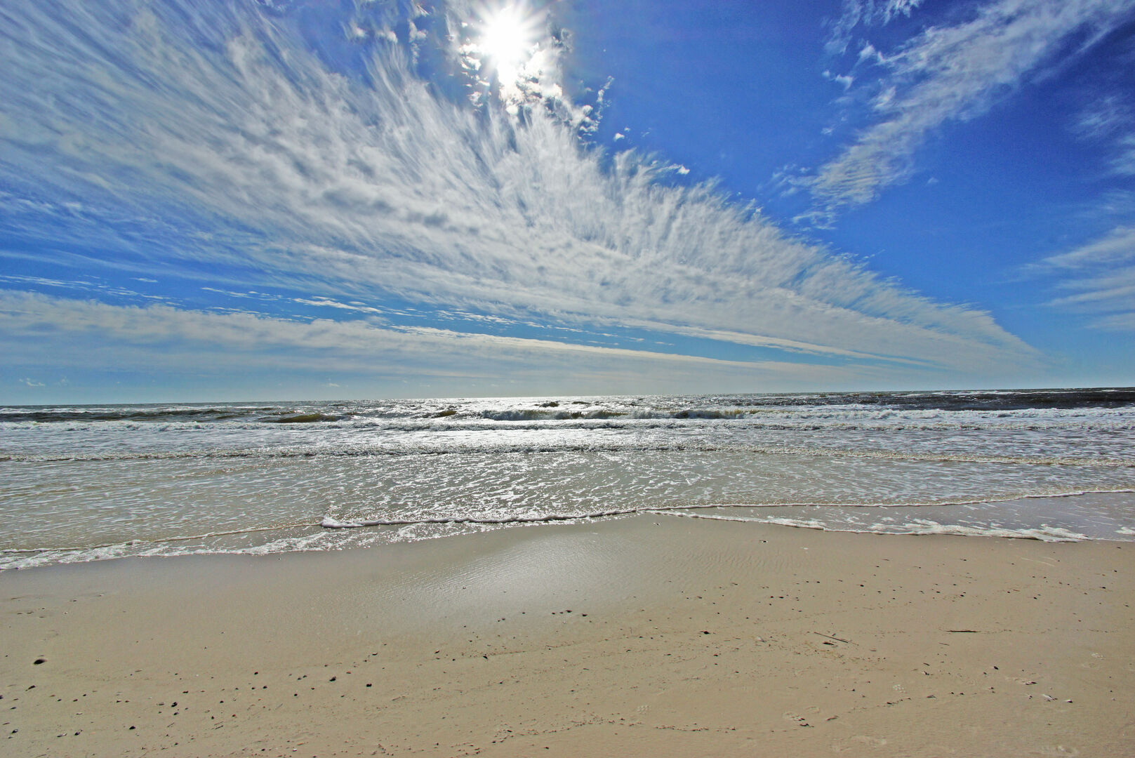 An Image of Beach Located Near Vacation Rental in Gulf Shores.