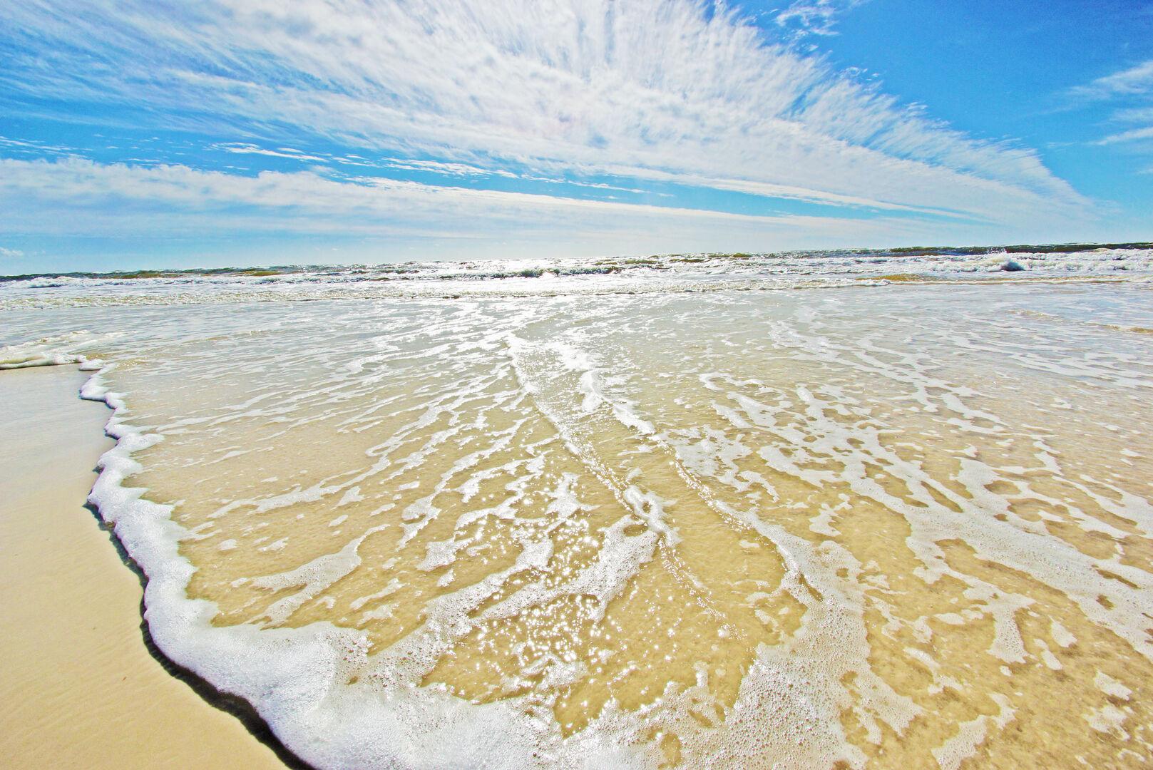 Beautiful beaches in Gulf Shores