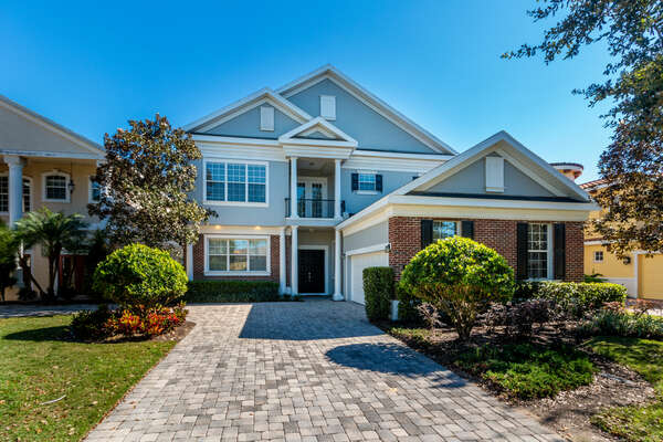 The Luxury Vacation Villa awaits you for your perfect Orlando family vacation