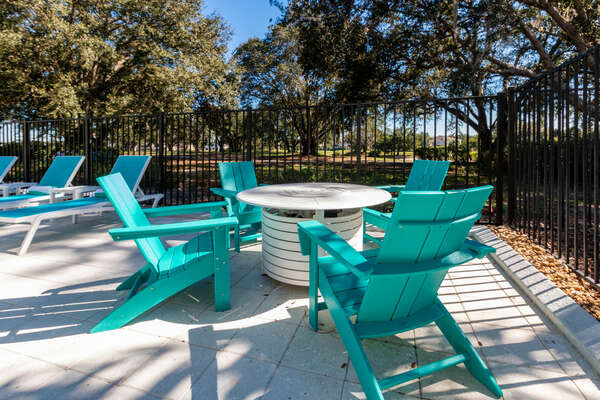 Enjoy the private surroundings and soak up the Florida sunshine at your own pool and spa