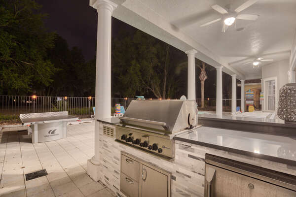 Prepare delicious meals in your summer kitchen