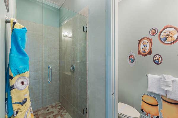 Even the kids bathroom is full of Minion fun