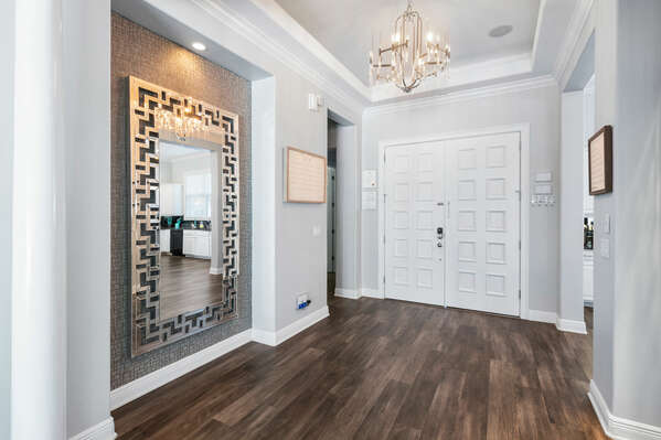 Enter into luxury from the moment you step into the foyer