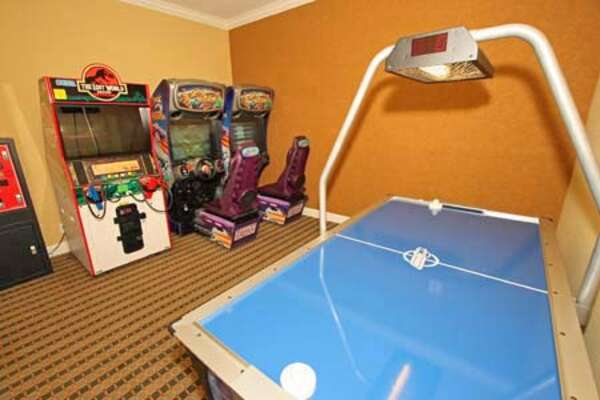 On-site facilities:- Games room and arcade