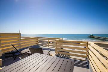 Lounge on your rooftop deck and enjoy the best views of the whole island!