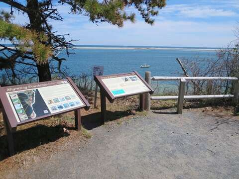 Beautiful walking trails up on Morris Island at the Wildlife refuge-Chatham Cape Cod - New England Vacation Rentals