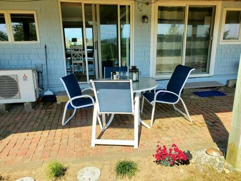 Patio dining by the sea-18 Starfish Lane Chatham Cape Cod - New England Vacation Rentals