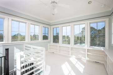 Lookout Area -360 Degree Views of Folly Beach!