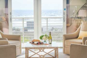 Beautiful views of the ocean from every room