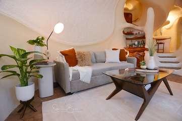 The Bloomhouse | Living Room Boho Chic feel