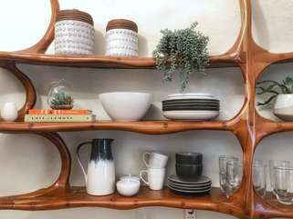 The Bloomhouse | Kitchen Cookware and dinnerware provided