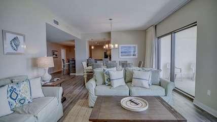 Beautiful living room area