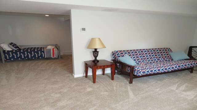 Lower level includes additional living room and bedroom-10 Melva Street South Yarmouth Cape Cod New England Vacation Rentals