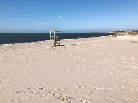 White sandy beach -warmer water and gentle waves! South Middle Beach-South Yarmouth Cape Cod New England Vacation Rentals