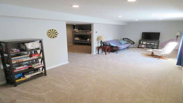Large play room-Foosball table will be in the home for summer 2019! 10 Melva Street South Yarmouth Cape Cod New England Vacation Rentals