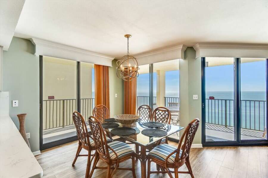 Dining Area with access to Private Balcony