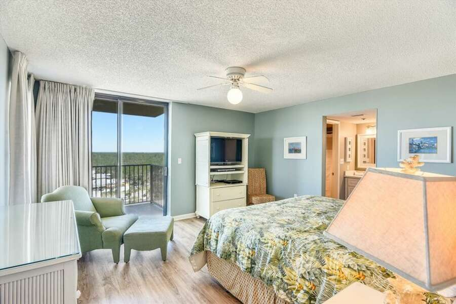 Master Bedroom with Private Bath and Balcony