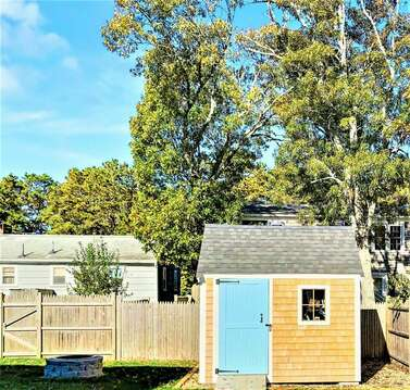 New Shed to store your beach gear or bikes-10 Melva Street South Yarmouth Cape Cod New England Vacation Rentals