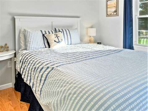 Queen bed on main living level-10 Melva Street South Yarmouth Cape Cod New England Vacation Rentals