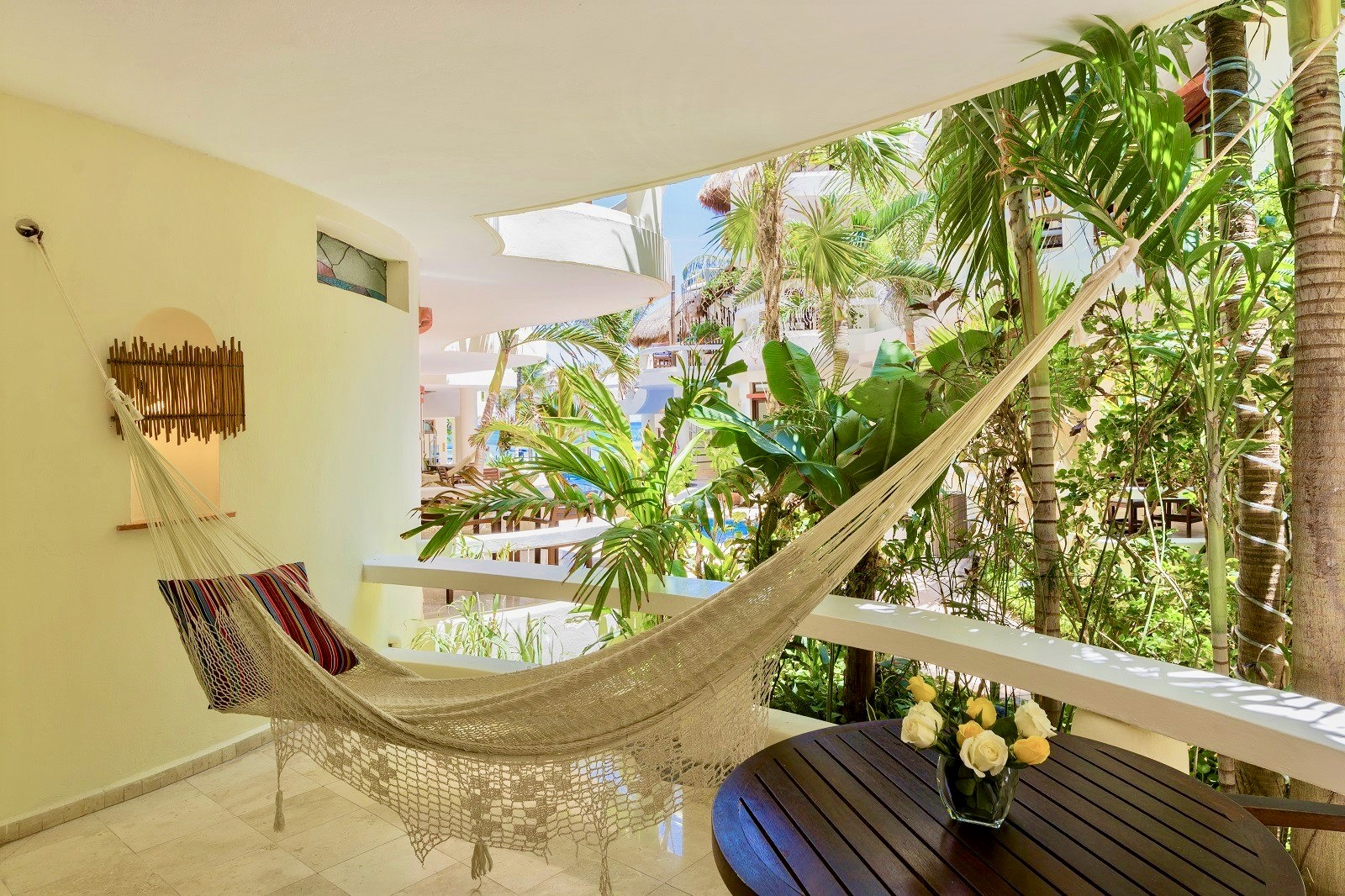 Relax on Your hammock.