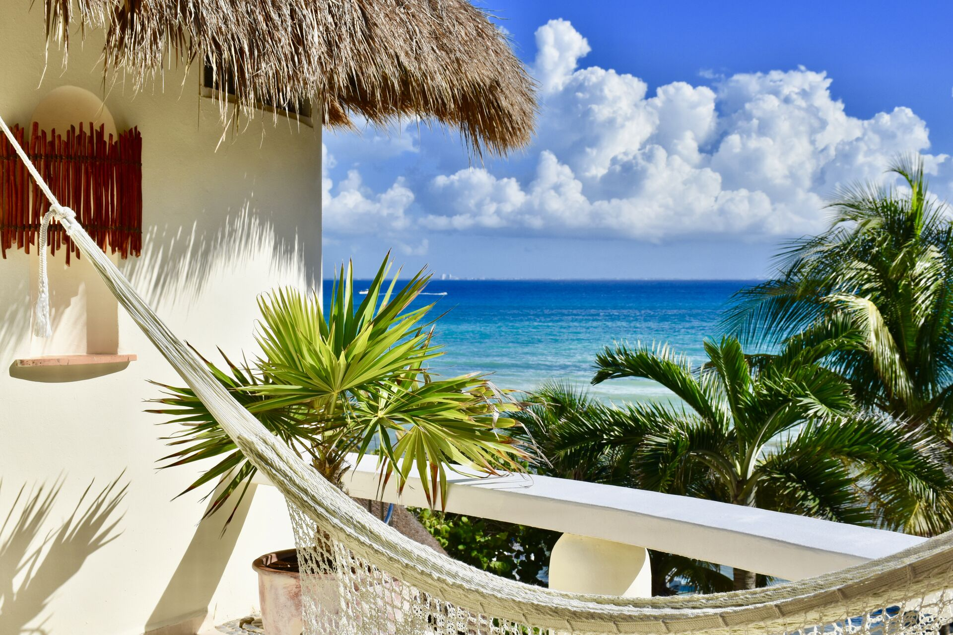 Your balcony view.