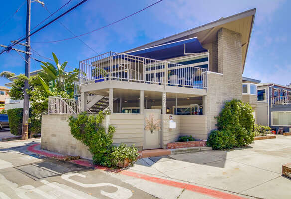 Exterior of this Rental Property in San Diego