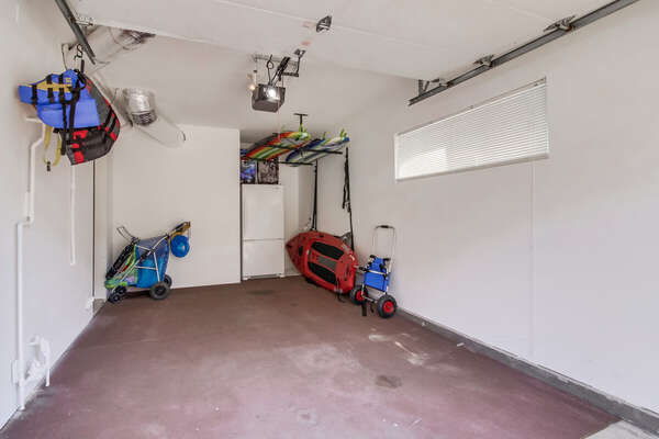 Garage and Beach Items