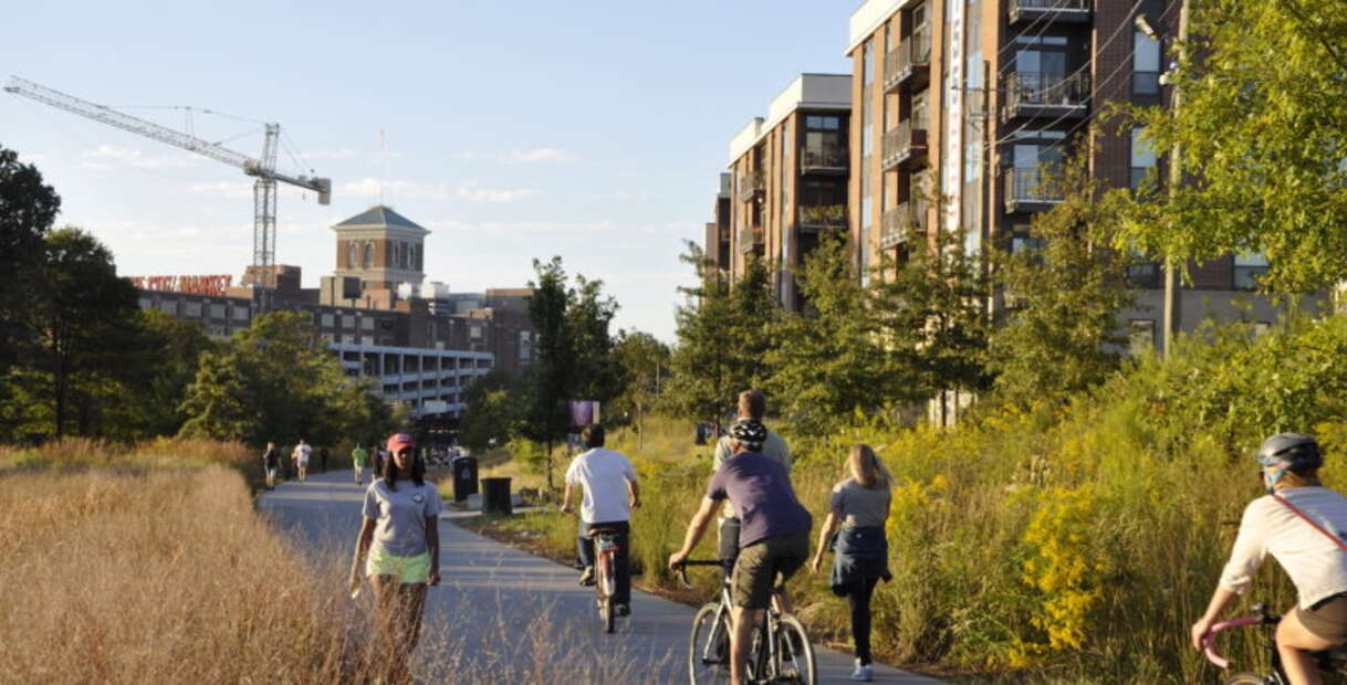 Walk or Bike on the Beltline ATL