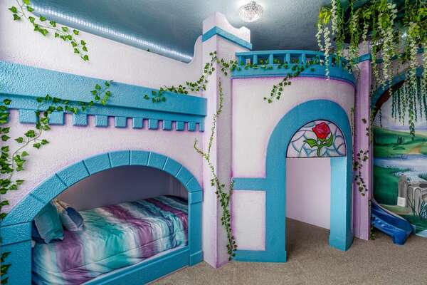 Princesses will have their own royal castle to call home