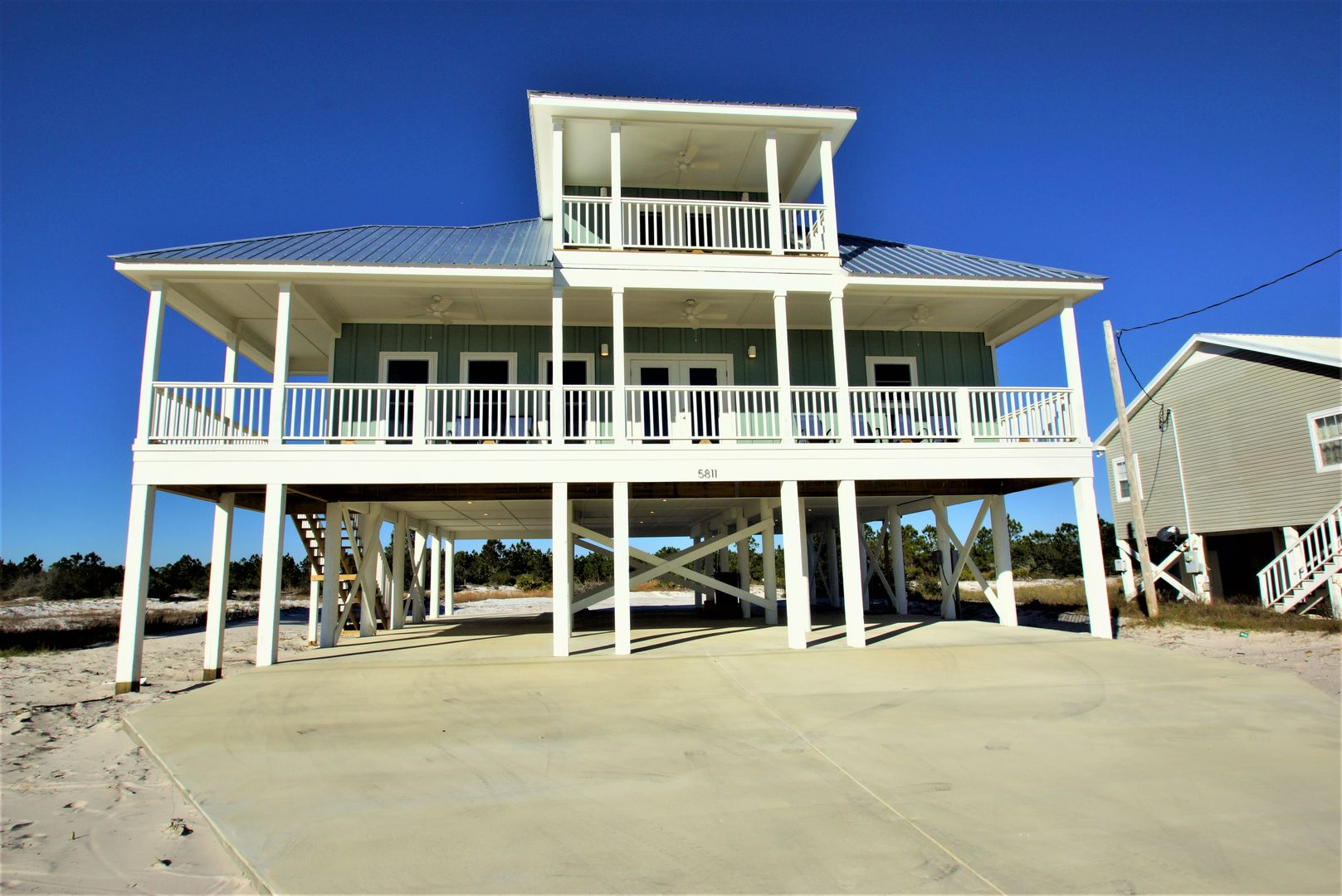 Welcome to Gulf Getaway; picture of the exterior of this Vacation Rental in Gulf Shores AL!